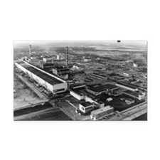 Aerial view of Chernobyl power station - Car Magne