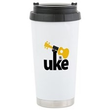 Uke Fist Ceramic Travel Mug