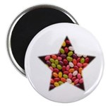 JELLY BEAN CANDY STAR Magnet