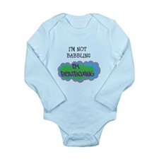 Cute Beatboxing Long Sleeve Infant Bodysuit