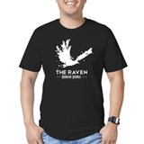 Guys Premium Fitted Tee - White Raven