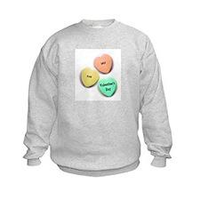 Baby's 1st Valentine's Day Sweatshirt