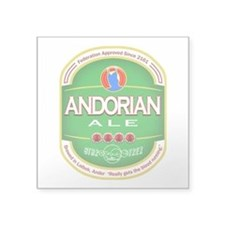 "Andorian Ale Square Sticker 3"" x 3"""