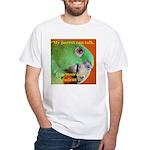 Delbert - Barbara Heidenreich White T-Shirt