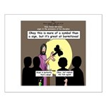 Jesus Signs and Symbols Small Poster