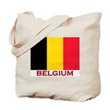 Belgium Flag Stuff Tote Bag