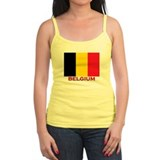 Belgium Flag Stuff Ladies Top