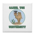 Camel Toe University Tile Coaster