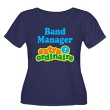 Band Manager Extraordinaire Women's Plus Size Scoo