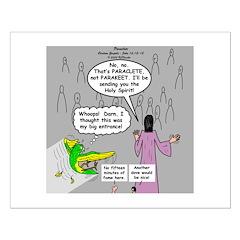 Parakeet vs Paraclete Posters