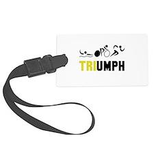 Tri Triumph Luggage Tag