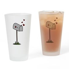 Love Letters Drinking Glass