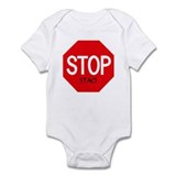Stop Staci Infant Bodysuit