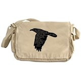 The Raven - Edgar Allan Poe Messenger Bag
