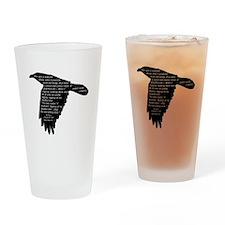 The Raven - Edgar Allan Poe Drinking Glass