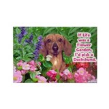 Cool Dachshund items Rectangle Magnet