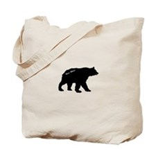 Black bear Tote Bag