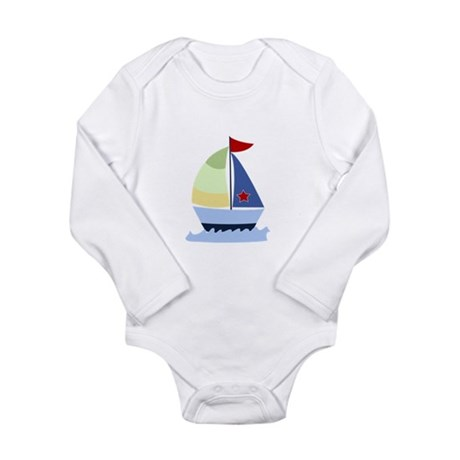 Nautical Sailboat Body Suit