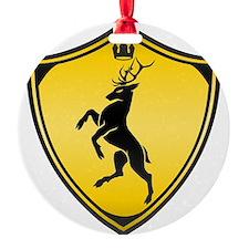 Royal stag sigil Ornament