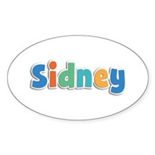 Sidney Spring11B Oval Decal