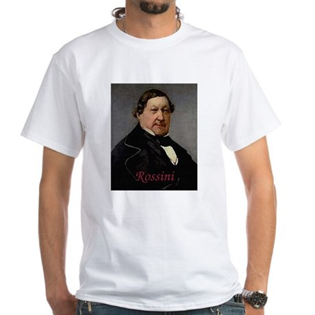 Rossini White T-Shirt