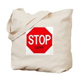 Stop Lena Tote Bag
