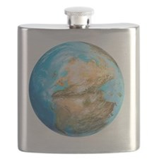 Pangea supercontinent, artwork - Flask