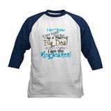 Big Deal Ring Bearer Baseball Jersey