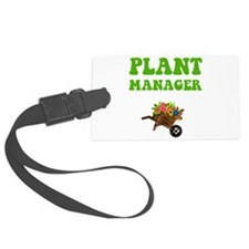 Plant Manager Green.png Luggage Tag