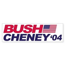 Bush/Cheney Bumper Bumper Sticker