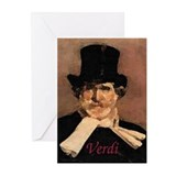Verdi Greeting Cards (Pk of 10)