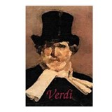 Verdi Postcards (Package of 8)