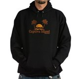 Captiva Island - Palm Trees Design. Hoody
