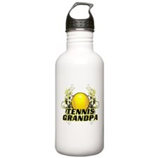 Tennis Grandpa (cross).png Sports Water Bottle