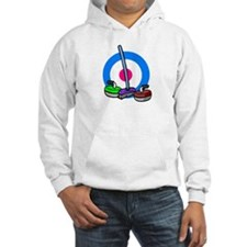 """Rocks and broom"" Hoodie"