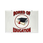 BORED Rectangle Magnet (10 pack)