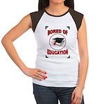 BORED Women's Cap Sleeve T-Shirt