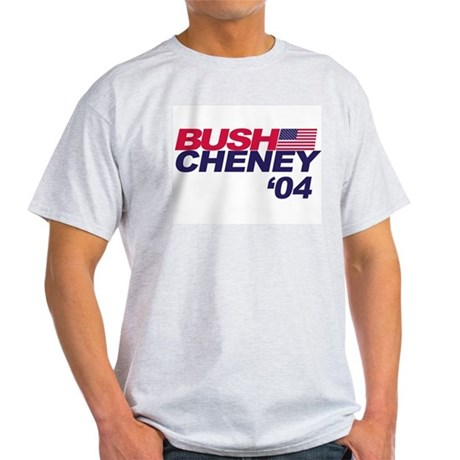 Bush/Cheney Ash Grey T-Shirt
