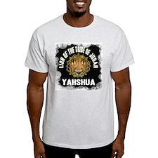 Yahshua Lion Ash Grey T-Shirt