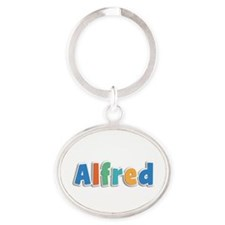 Alfred Spring11B Oval Keychain