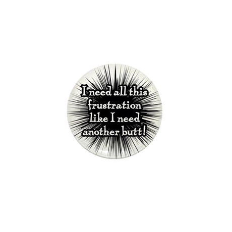 Frustration Mini Button (100 pack)
