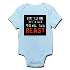 Pretty faced beast Infant Bodysuit