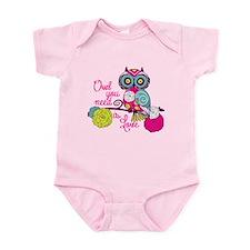 Owl you need is love Infant Bodysuit