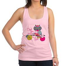 Owl you need is love Racerback Tank Top