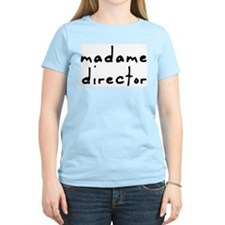 Madame Director Ash Grey T-Shirt T-Shirt