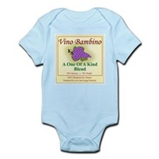Vino Bambino Wine Label - Body Suit