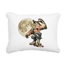 Werewaldo Rectangular Canvas Pillow