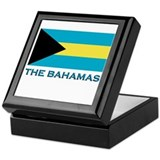 The Bahamas Flag Gear Keepsake Box