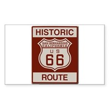 San Bernardino Route 66 Decal