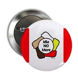 "Idle No More - Five Hands - Canadian Flag 2.25"" Bu"